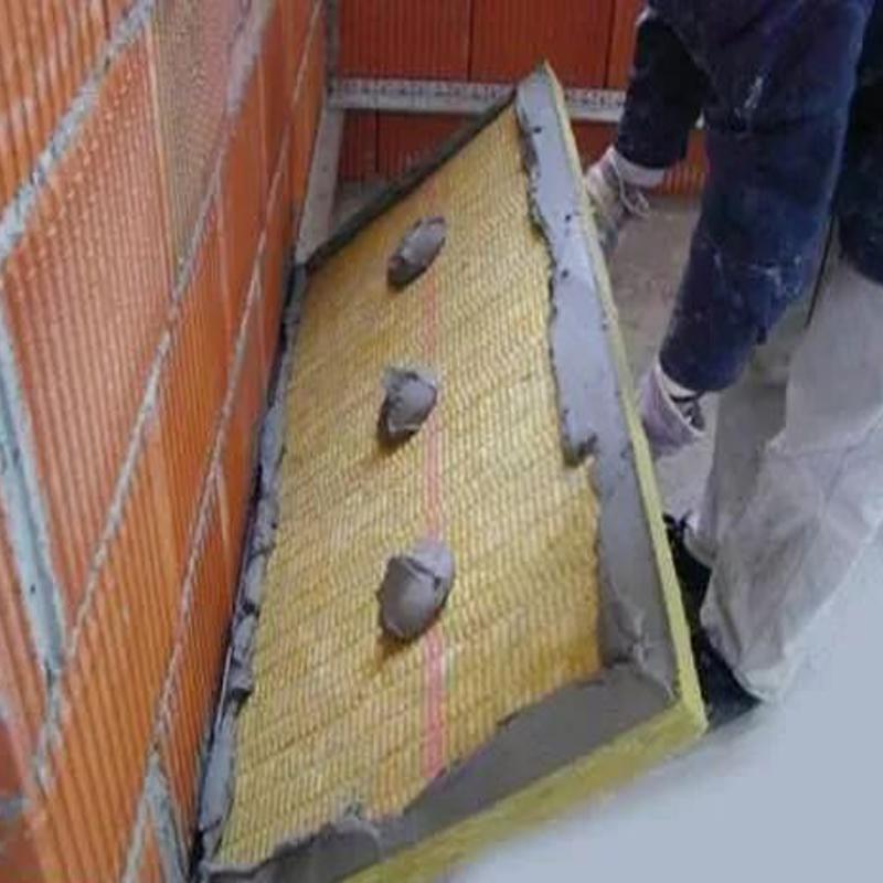 房屋外墙岩棉板施工案例